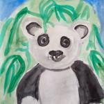 """Ирада, 6 лет . """"Панда"""""""