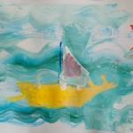 """Эвелина - 4 года -""""Кораблик"""""""